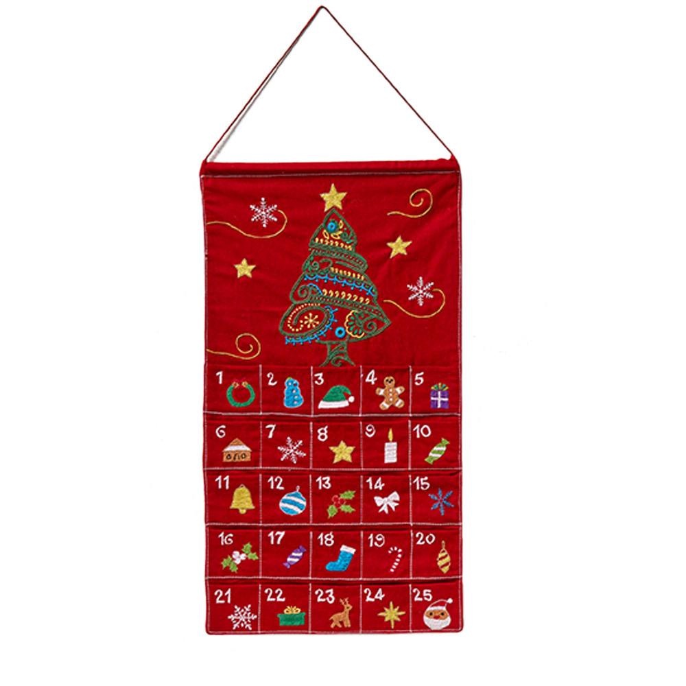 Christmas Countdown Pocket Calendar