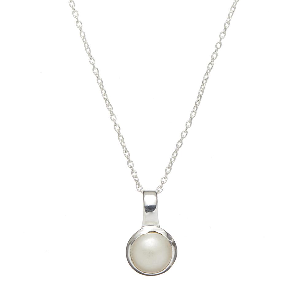 Sapha Pearl Pendant Necklace