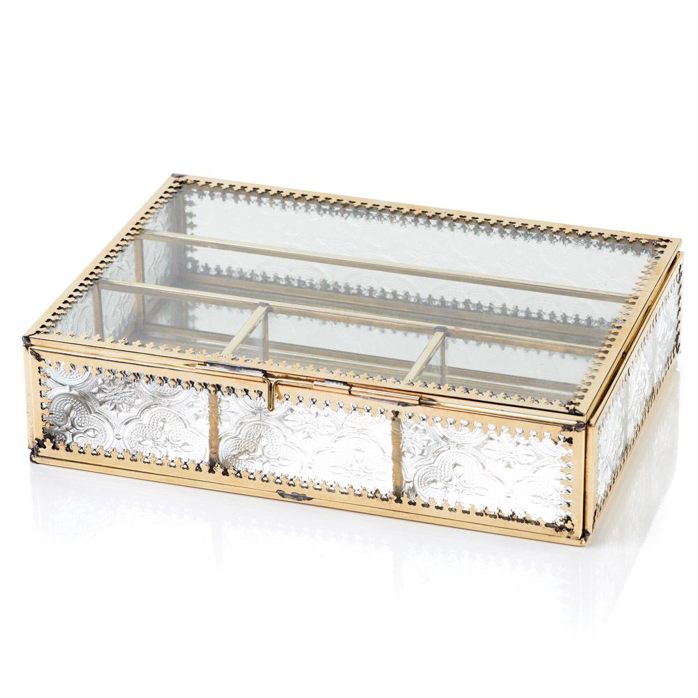 Jadani Glass Jewelry Box Chests Boxes Serrv International