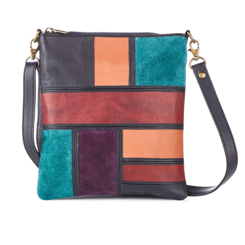 Avani Leather Crossbody Bag