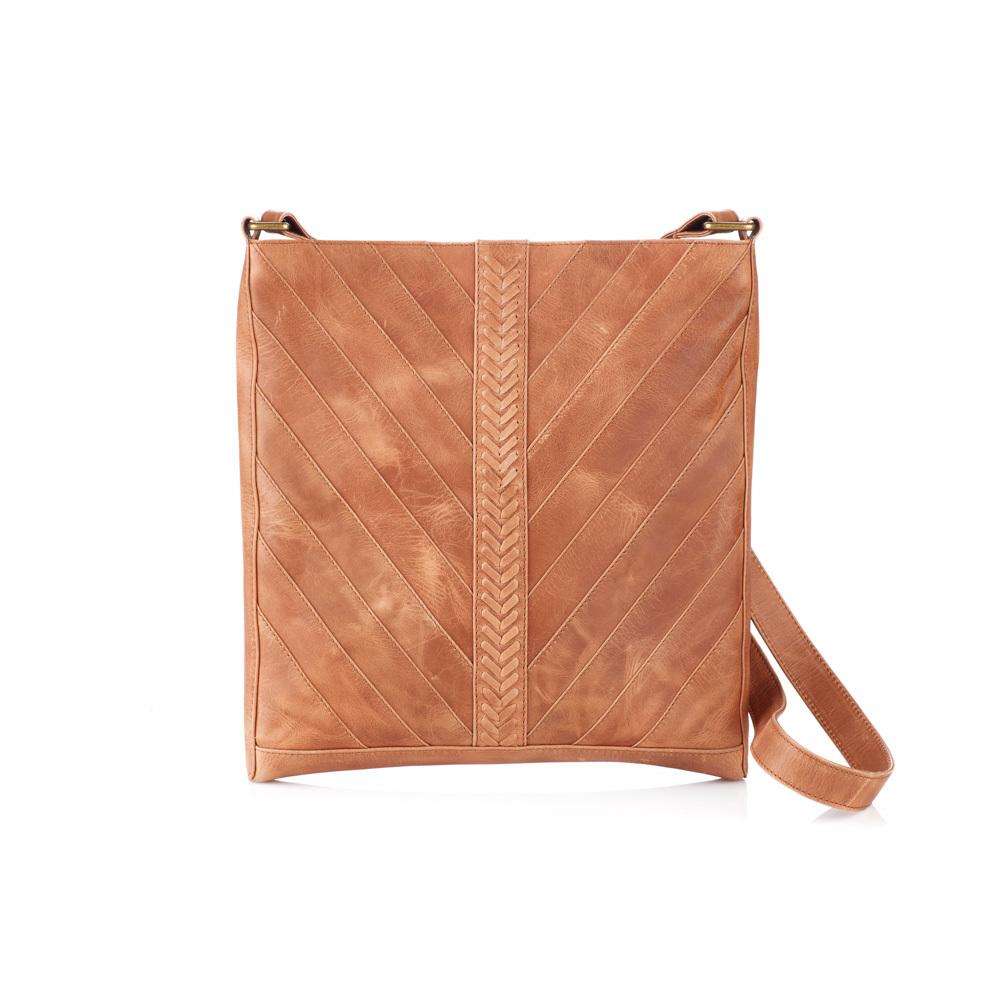 Riya Leather Crossbody Bag