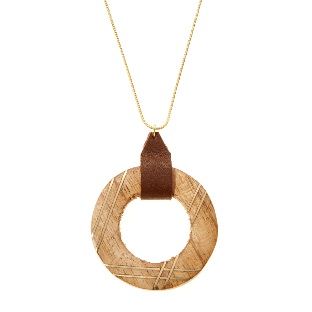 Jadana Ring Necklace