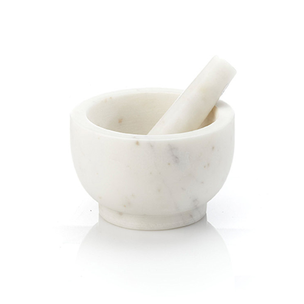 Amara Marble Mortar & Pestle