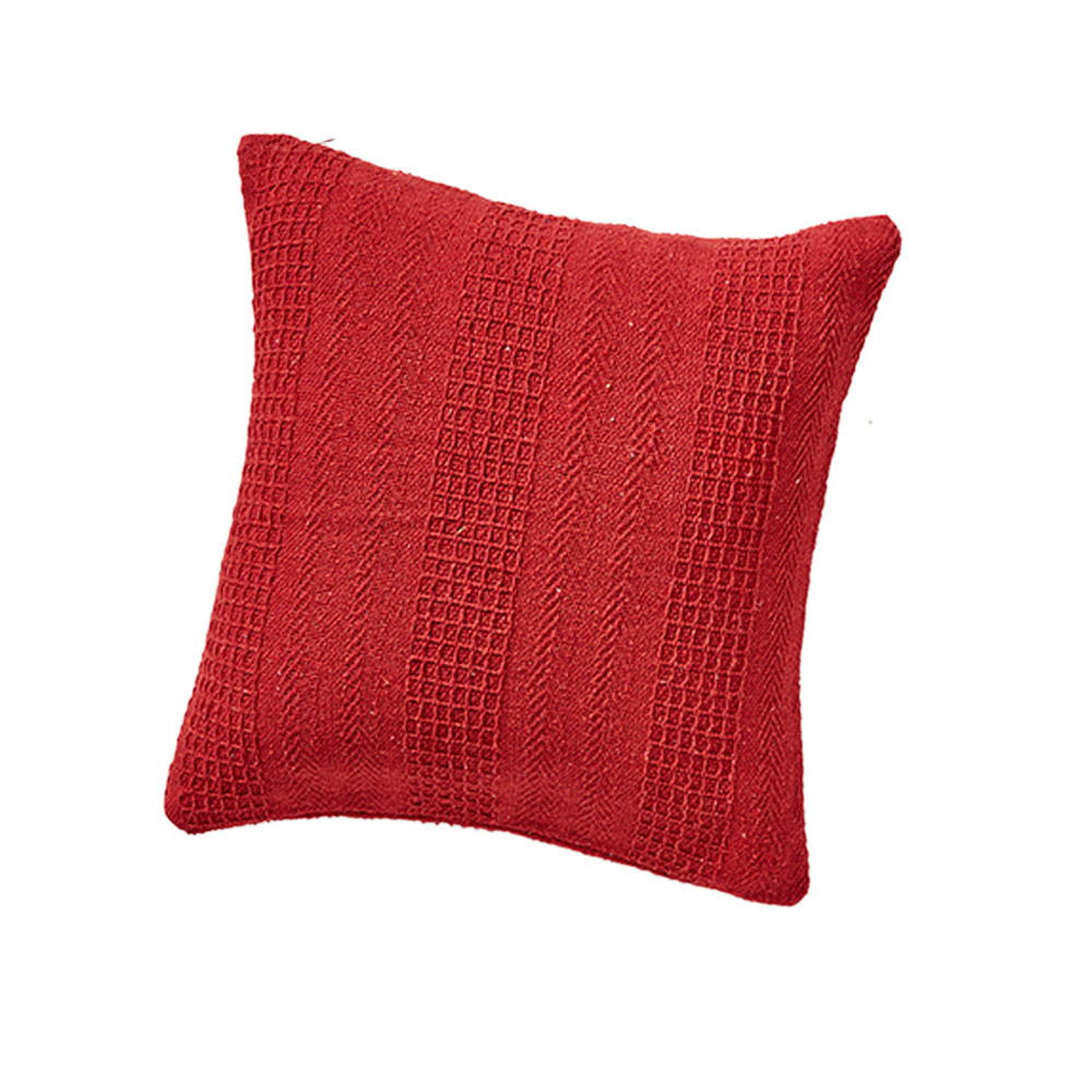 Rethread Pillow - Red