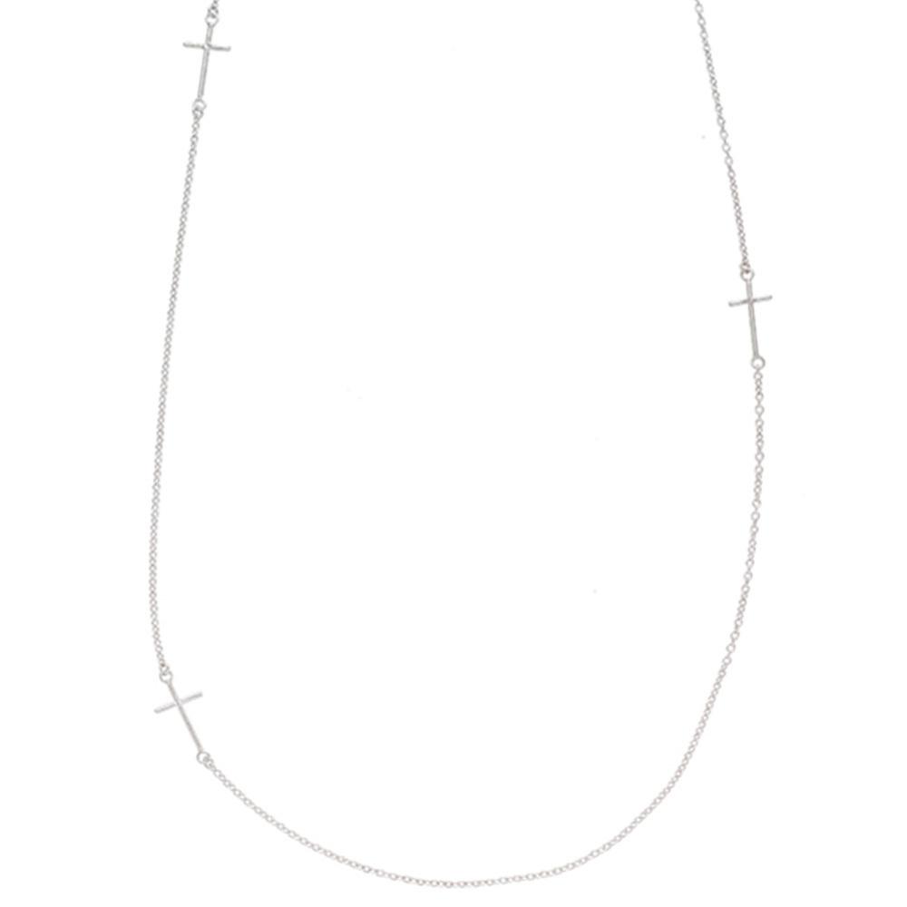 Sundara Multi-Cross Necklace