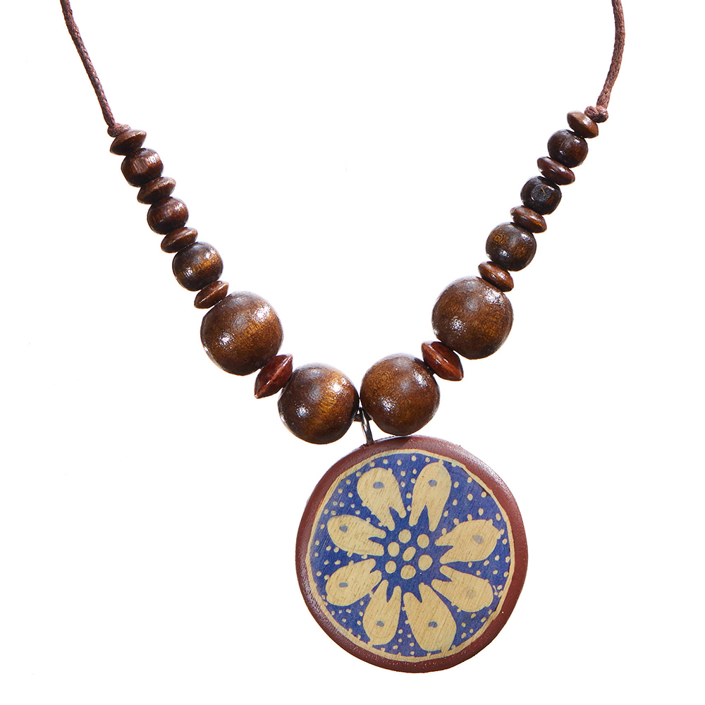 Mikara Batik Pendant Necklace