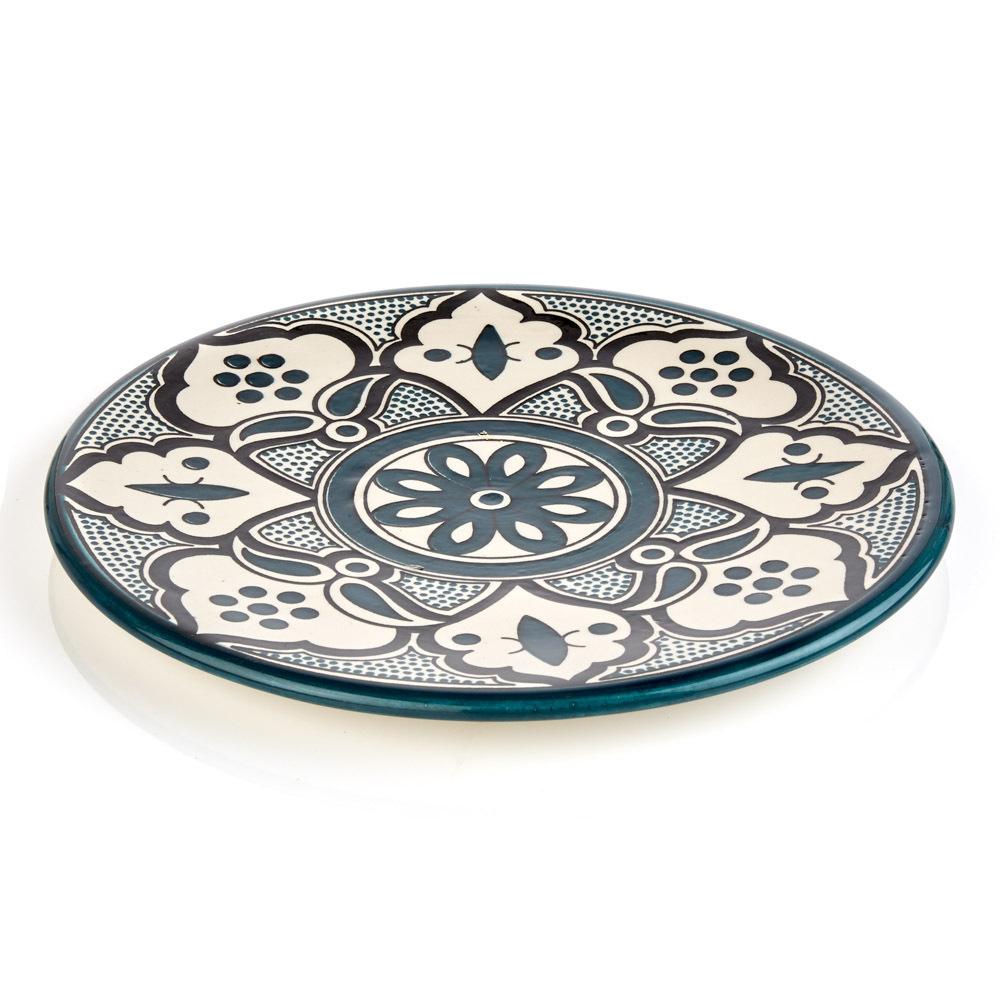 Teal Jasmine West Bank Platter