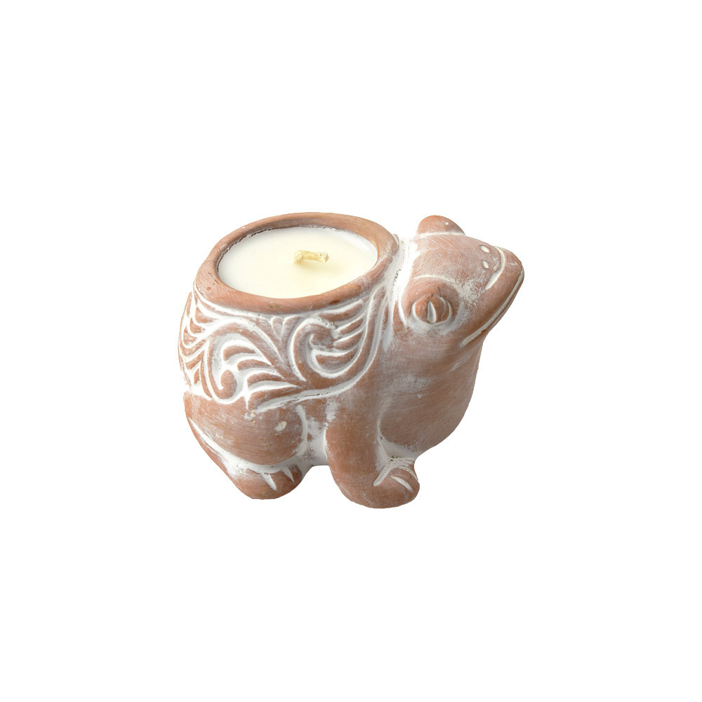 Friendly Frog Citronella Candle