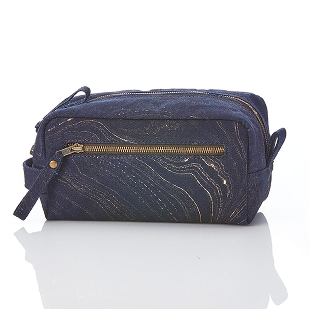 Tanay Recycled Denim Dopp Bag