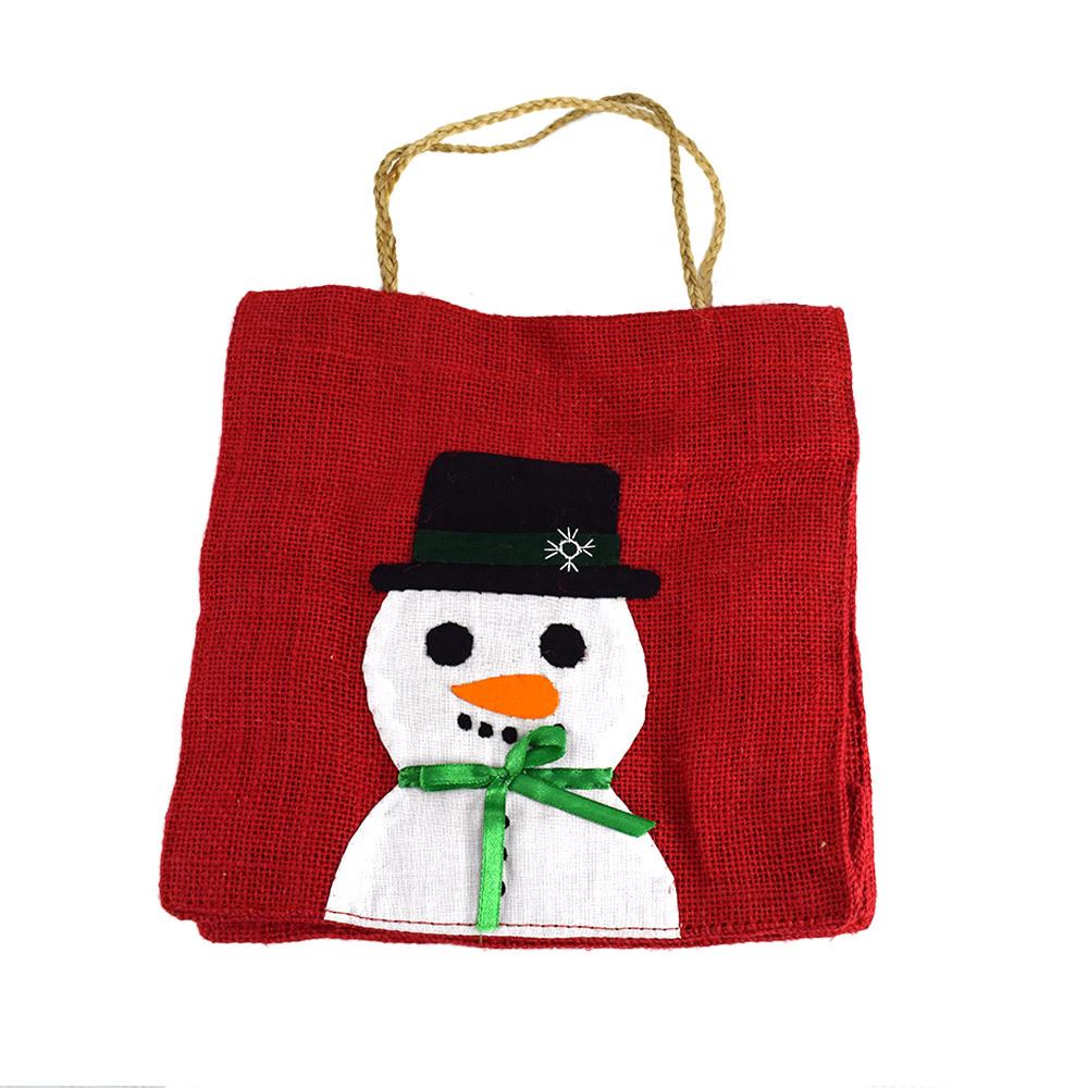 Happy Snowman Gift Bag