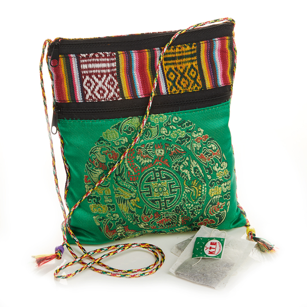 Organic Ginger Tea & Satin Bag