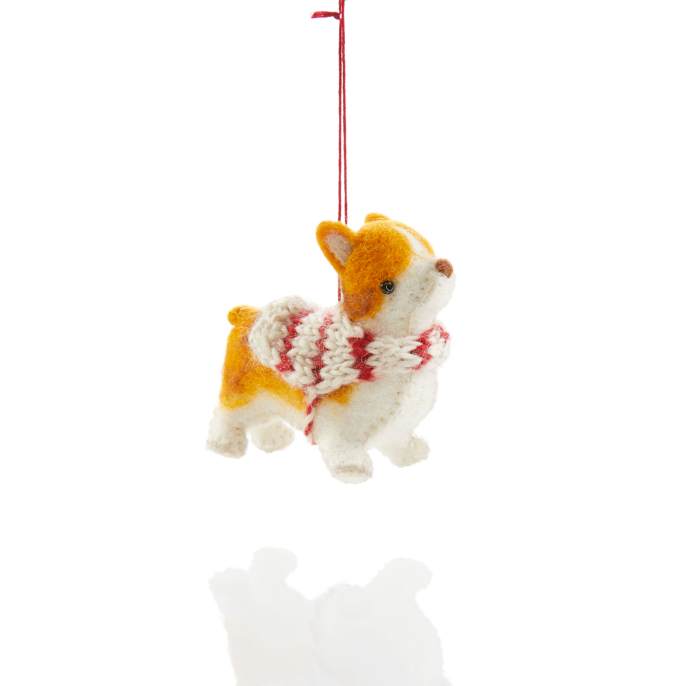 Corgi Ornament