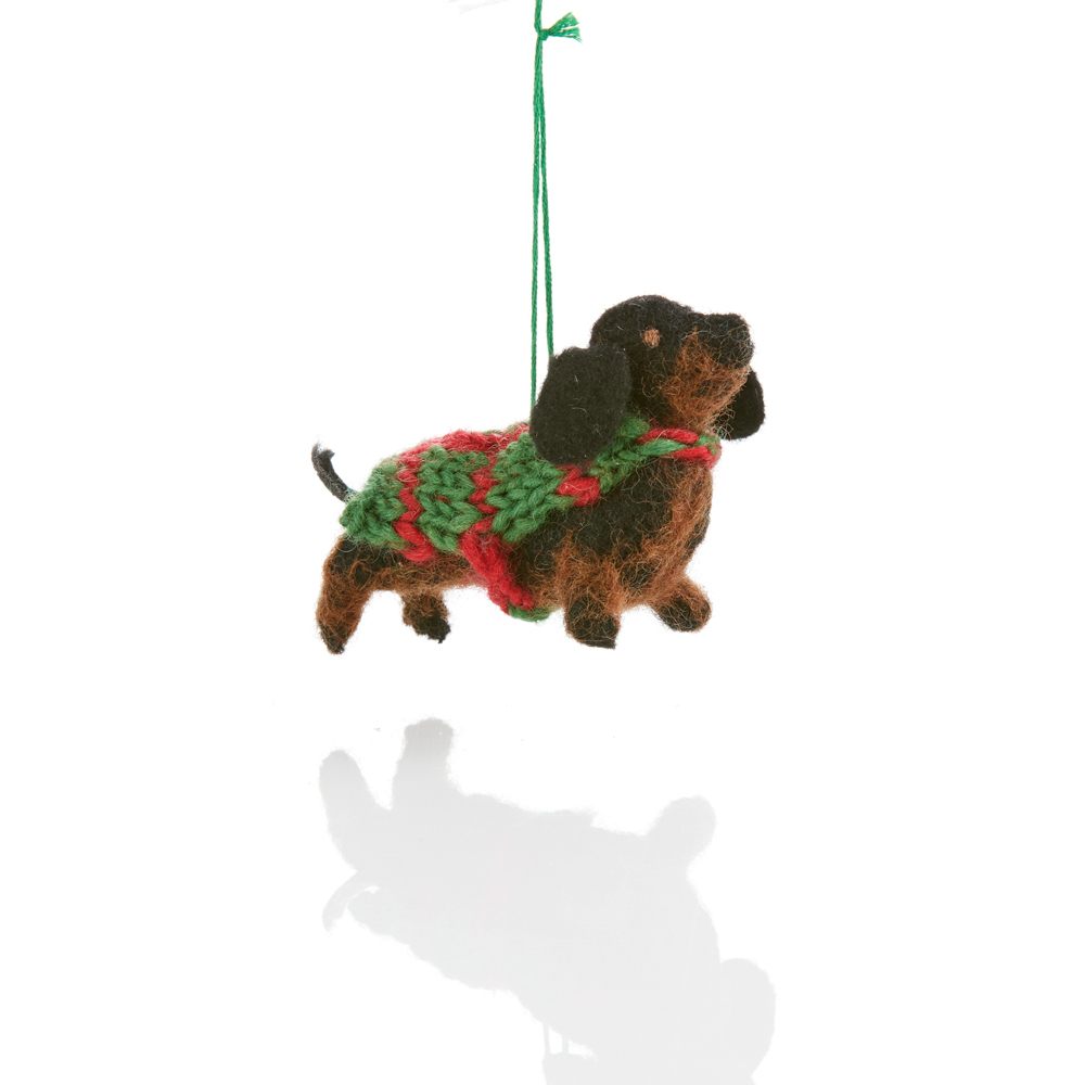 Dachshund Ornament
