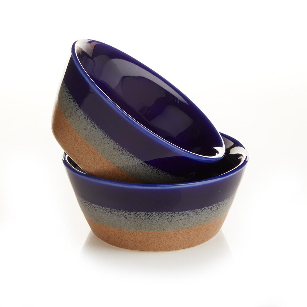 Farmhouse Dipping Bowl Set- Tricolor