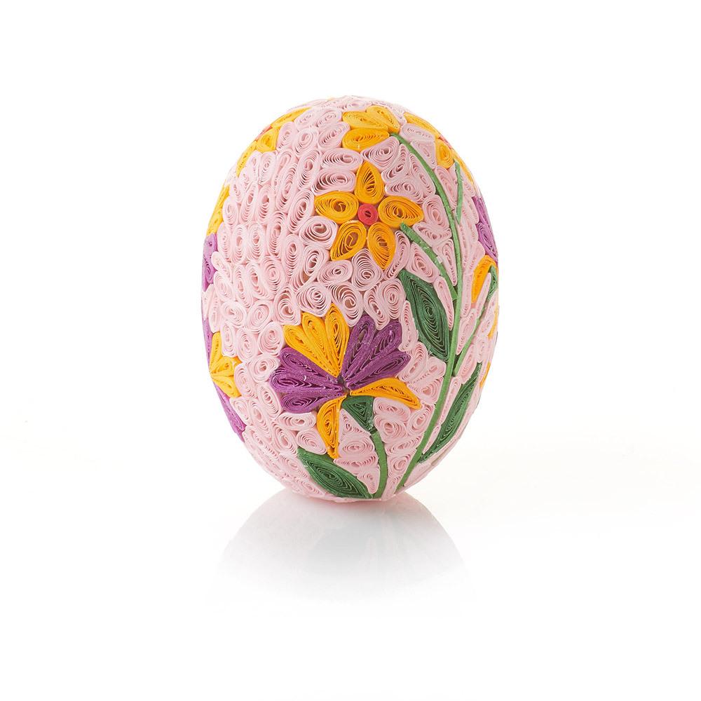 Quilled Grand Primrose Egg
