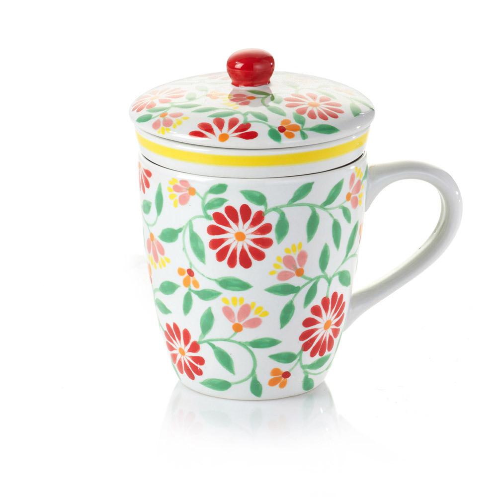 Sang Hoa Ceramic Tea Infuser Mug