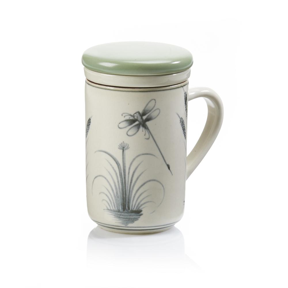 Dragonfly Tea Infuser Mug