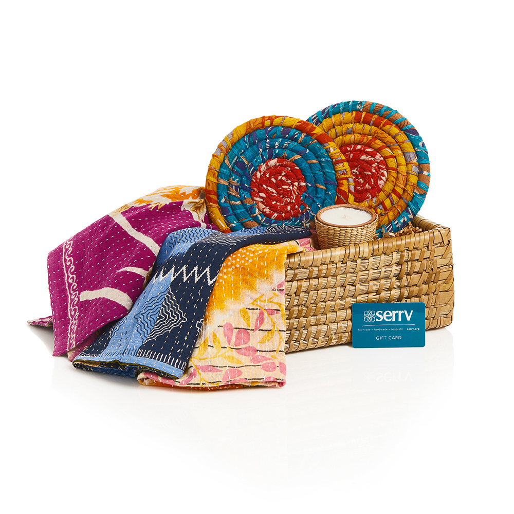 Kantha Kitchen Gift Basket