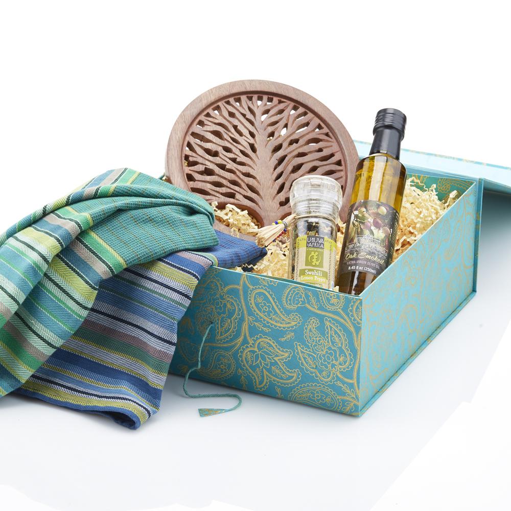 Purple Pamper Gift Basket
