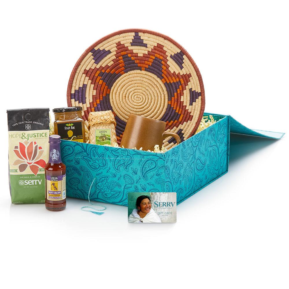 Global Sampler Gift Basket