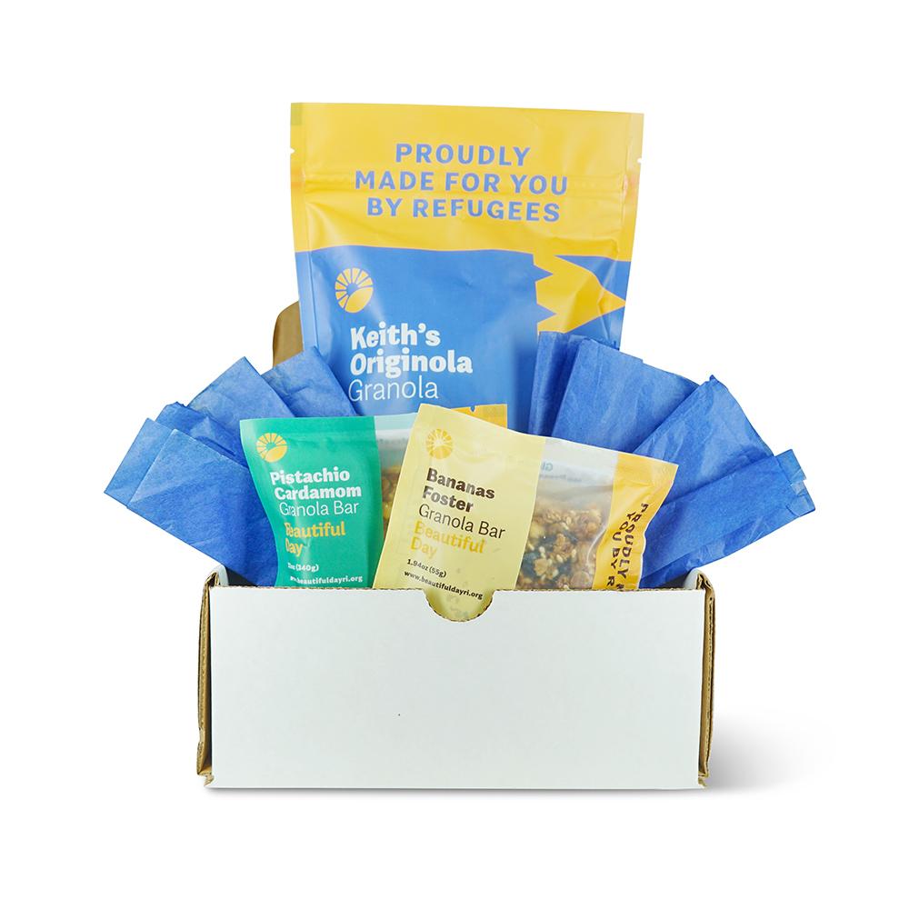 Beautiful Day Granola Gift Box