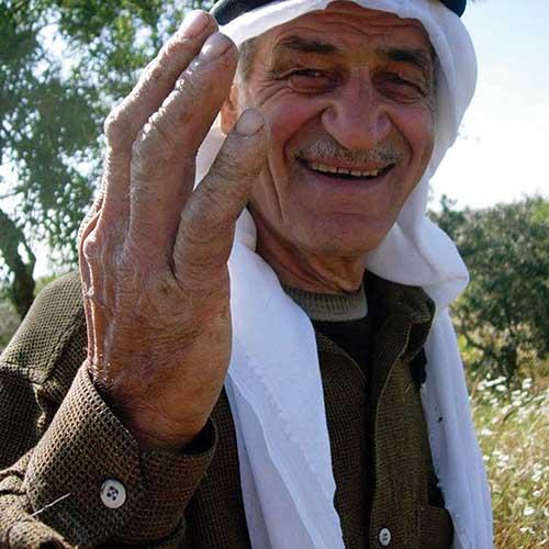 Farmers in West Bank