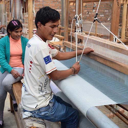 Handcrafters in Peru