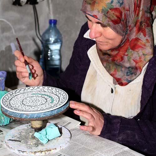 Handcrafters in West Bank