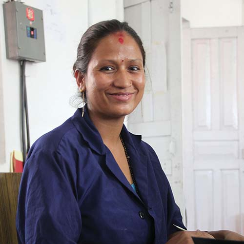 Paper Crafters in Nepal