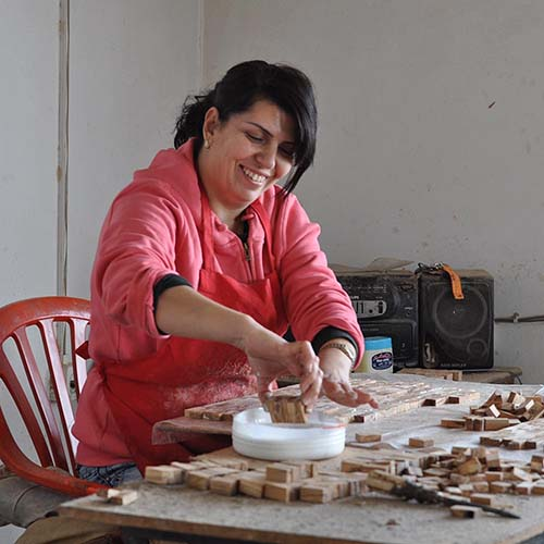 Artisans in West Bank