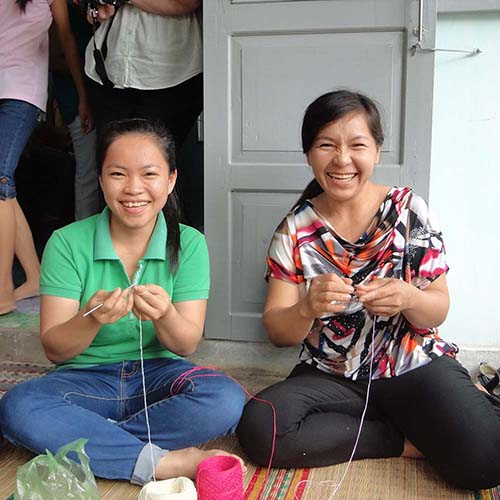 Handcrafters in South Vietnam
