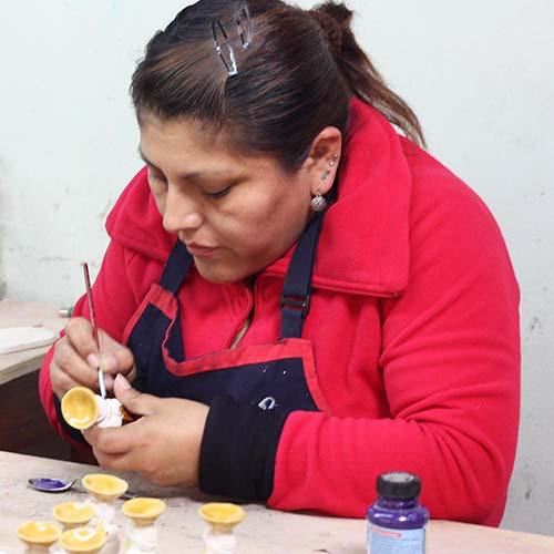 Artisans in Lima