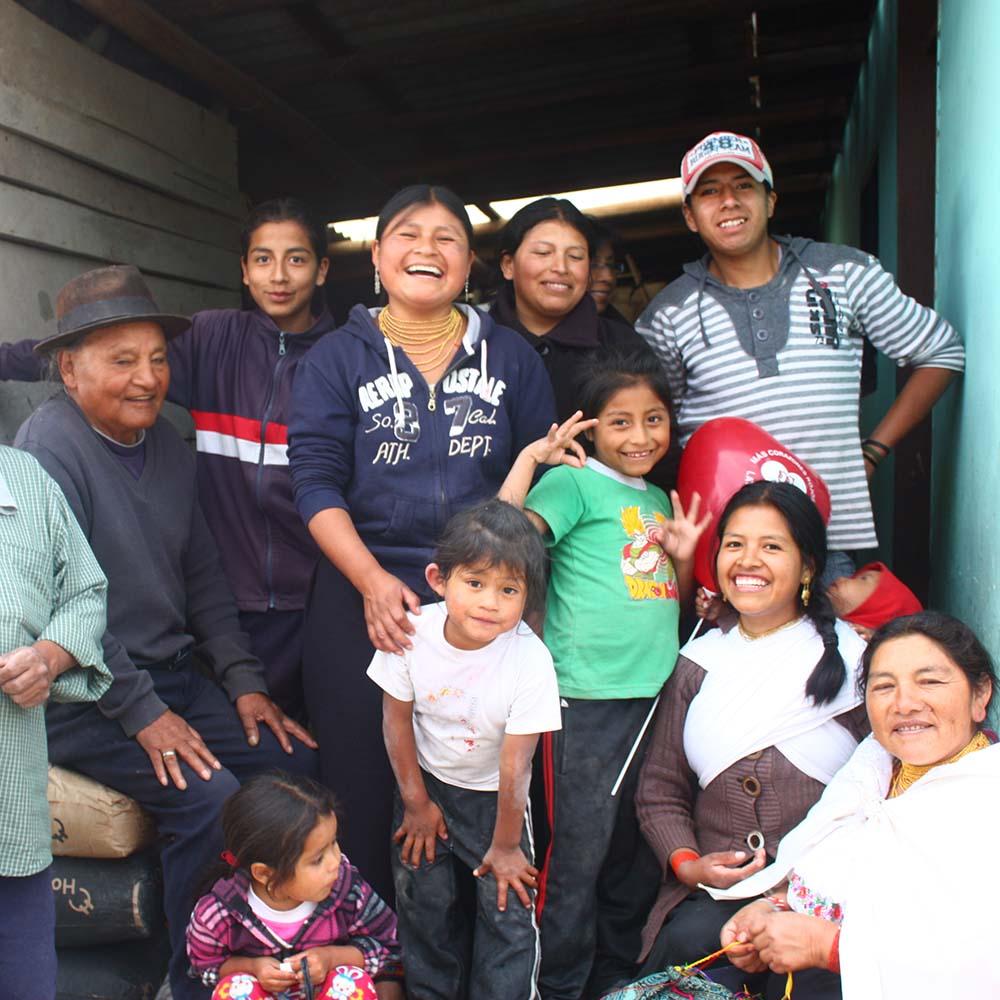 Artisans in Ecuador