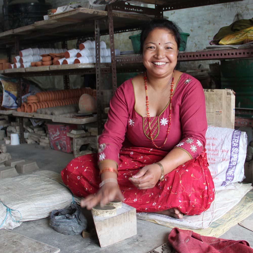 Handcrafters in Nepal