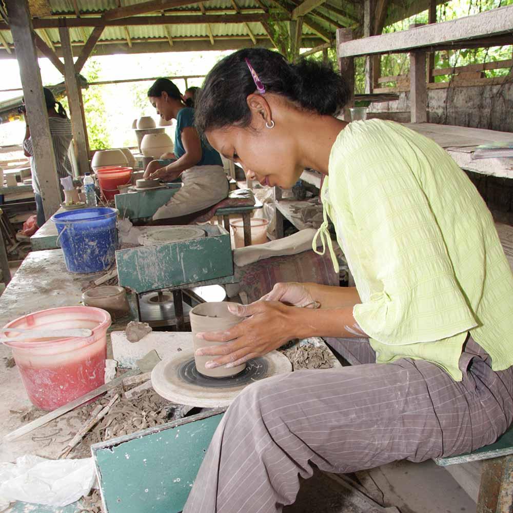 Artisans in Bali