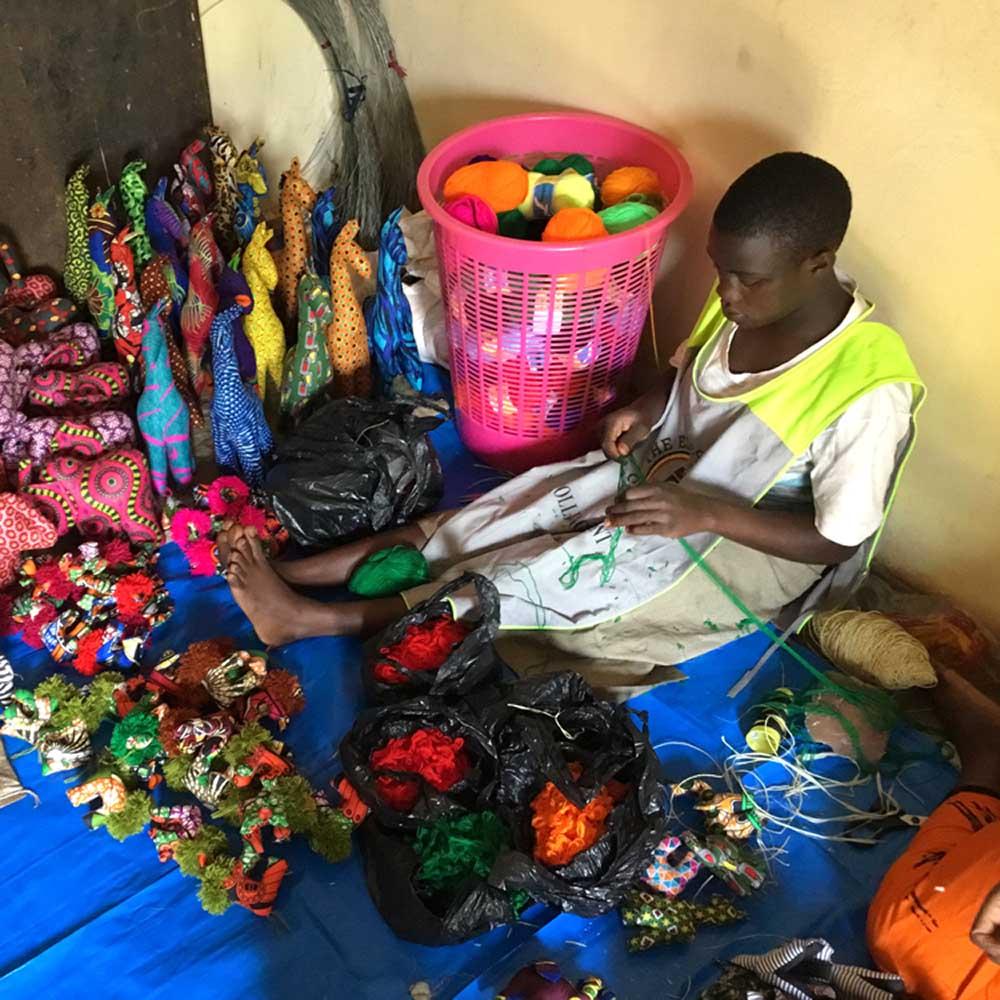 Handcrafters in Uganda