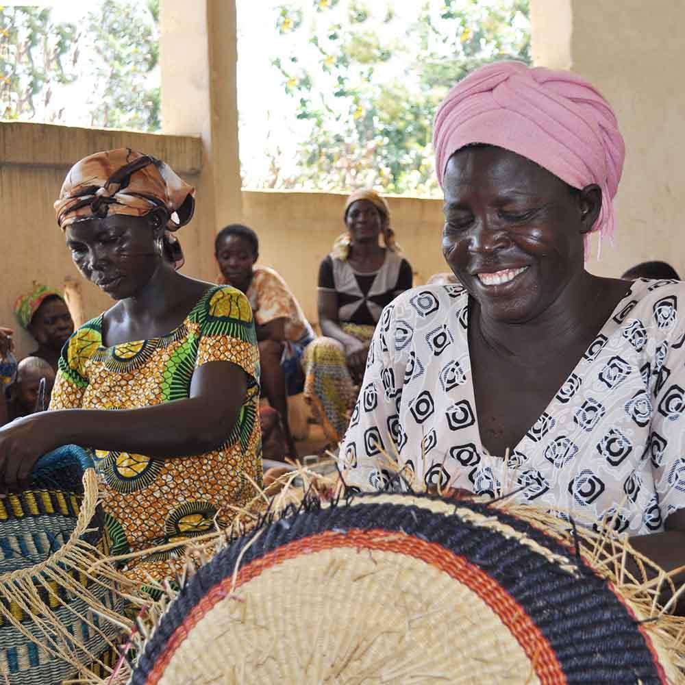 Basket Weavers in Ghana