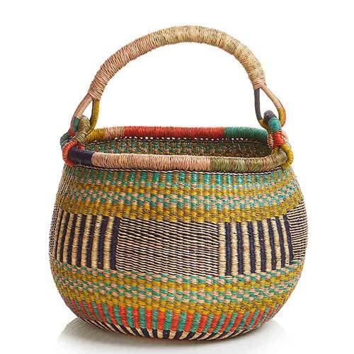Round Aloe Basket