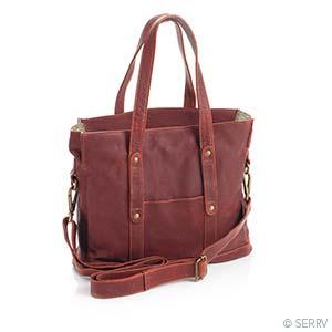 Burgundy Leather Bag