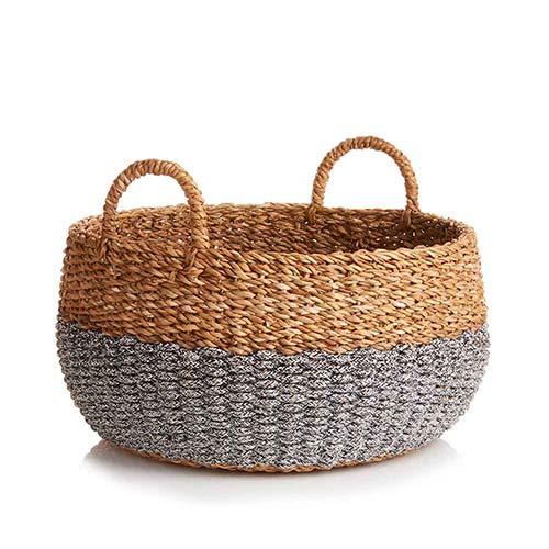 Large Hogla Two-Tone Basket