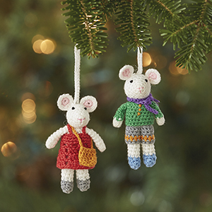 Christmas Mice Ornament Set, Ornaments: Serrv International