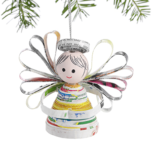 Happy Angel Ornament