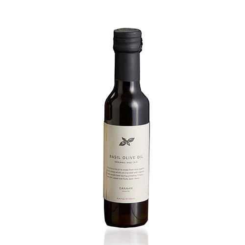 Basil-Infused Olive Oil