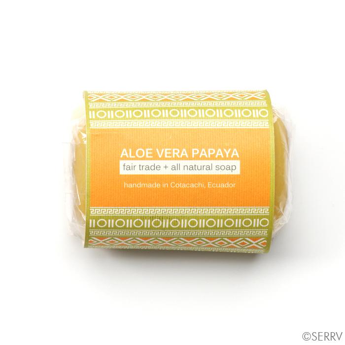 Aloe Vera Papaya Soap