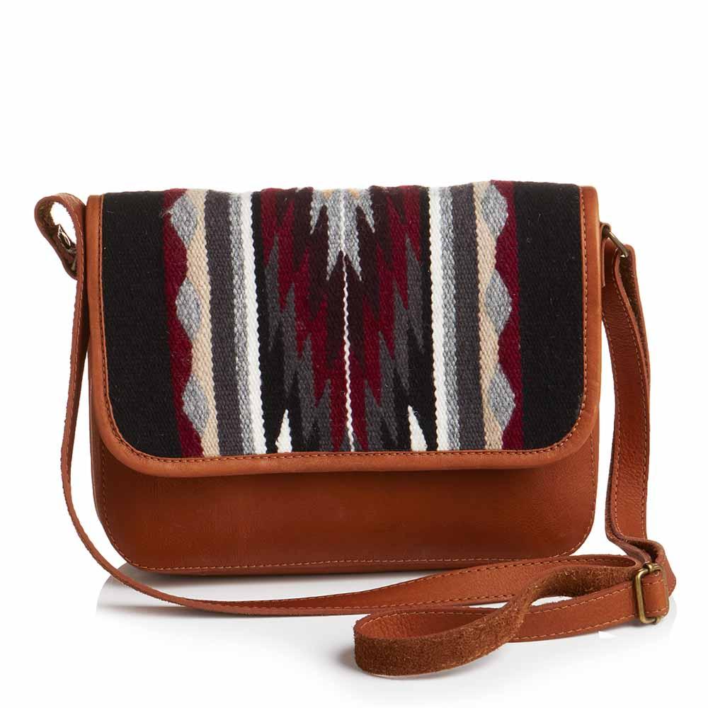 Highland Crossbody Saddle Bag