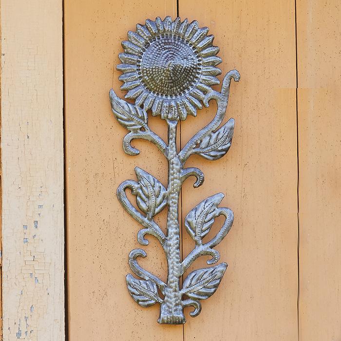 Small Sunflower Wall Art, Garden Decor: Serrv International