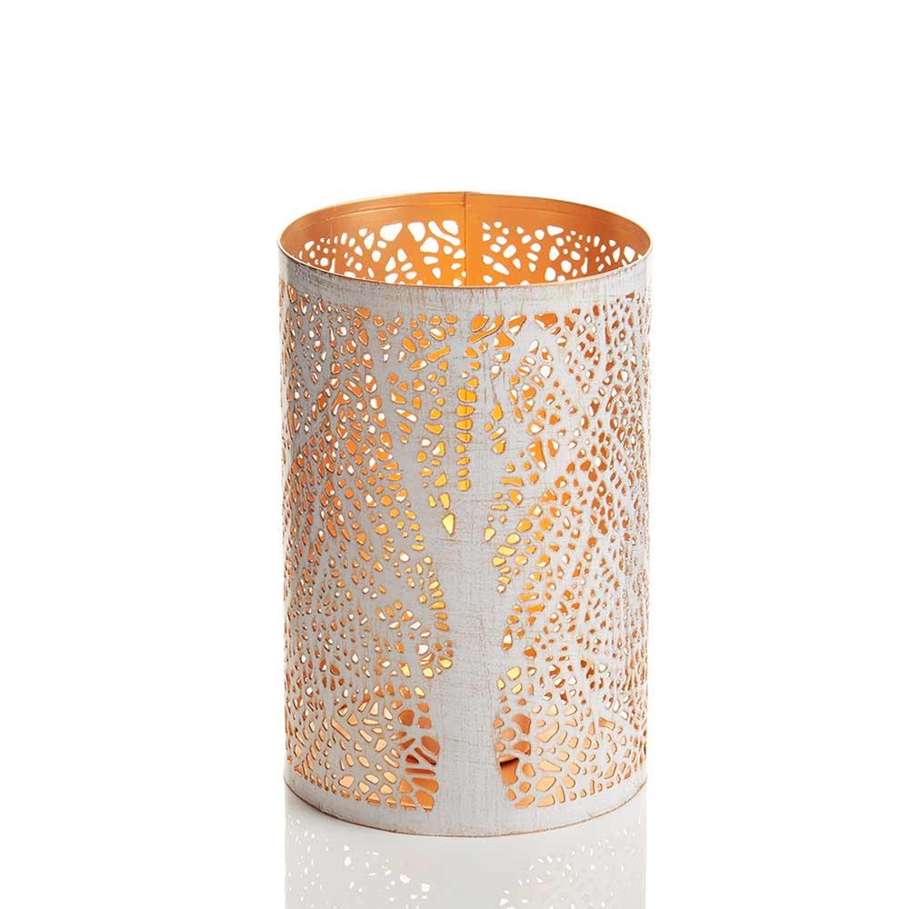 Medium White Birch Lantern