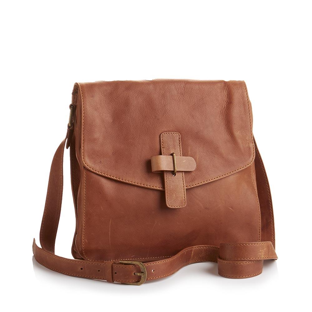 3f53855dd Kolkata Crossbody Bag - Dark Camel