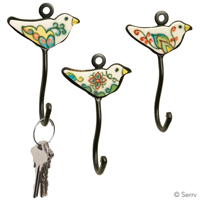 Little Bird Hooks - Set of 3