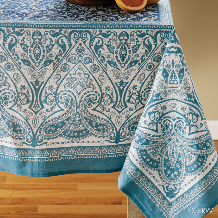 Design Imports tablecloths are the perfect items to decorate your table with for any occasion. Enjoy holiday entertaining, parties, gatherings, birthdays, special occasions, everyday meals and more.